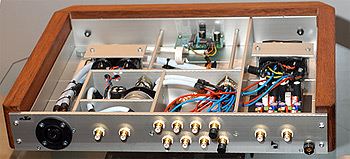 DACT custom preamp rear