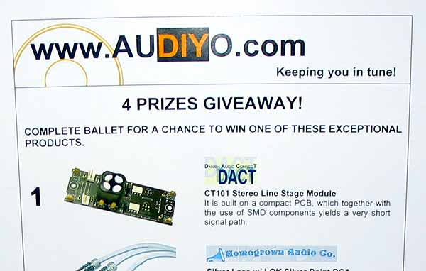 DACT giveaway