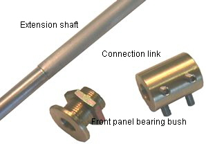 DACT's complete shaft extension kit CT-ext1